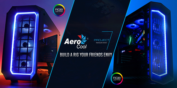 Aerocool Project 7 - Build a Rig Your Friends Envy!