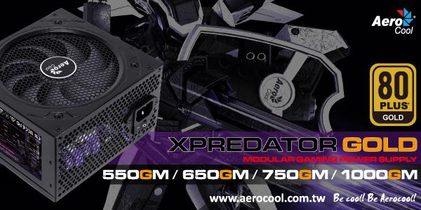 Aerocool Xpredator 80 Plus Gold Semi-Modular PSUs - In Stock Now @ A One!