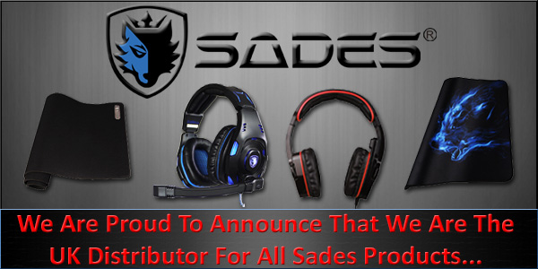 A One Are Proud to Announce That We Are Now The UK Distributors for Sades! Check-Out Our Shop Here...