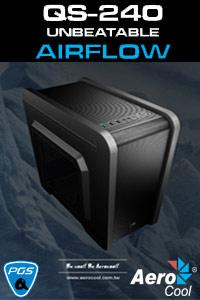 Brand New! Aerocool QS240 Micro ATX Case - Now In Stock!