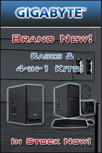 Brand New Gigabyte Cases & 4-in-1 Kits - In Stock Now at A One!
