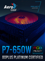 Aerocool Project 7 PSUs - In Stock Now @ A One!