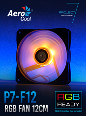 Aerocool Project 7 Cooling - Available Now from A One