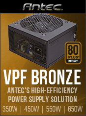 Antec VPF 80+ Bronze Series - In Stock Now @ A One!