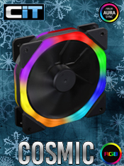 CiT Cosmic Halo Dual Ring - Rainbow Fan In Stock Now @ A One!