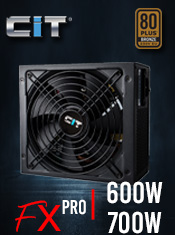 CiT FX Pro Series PSUs - In Stock Now @ A One!