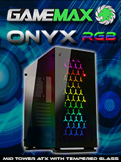 CiT Onyx RGB & Tempered Glass Case - Now In Stock @ A One!