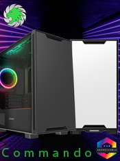 NEW GameMax Commando Micro ATX Case with ARGB Velocity Fan