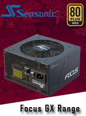 Brand New Seasonic PSU Range - Available Now from A One