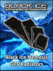 Black Ice Nemesis Water Cooling - Now In Stock @ A One!