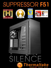 Brand New Thermaltake Suppressor F51 Case - Coming Soon to A One!