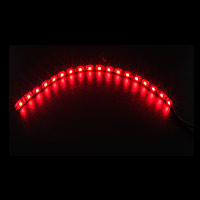 Game Max 30cm Magnetic LED Strip - Red - Click below for large images
