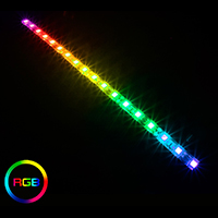 Game Max RGB LED Strip 30cm 16.8 Million Colours - Click below for large images