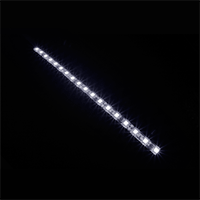 Game Max 30cm Magnetic LED Strip - White  - Click below for large images