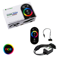 Game Max RGB RF Remote Control & Receiver With Touch Control Sata Connector - Click below for large images