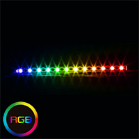 Sama RGB Rigid Strip 25cm OEM Bulk Packed - Click below for large images