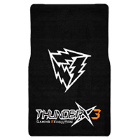 Aerocool Thunder X3 by Aerocool TGM20 Gaming Chair Floor Mat - Click below for large images