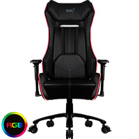 Aerocool P7-GC1 Air RGB Black Gaming Chair ETA. Coming Soon  - Click below for large images
