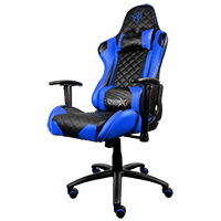 Aerocool Thunder X3 Pro Gaming Chair TGC12 Black Blue - Click below for large images