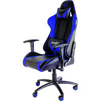 Aerocool Thunder X3 Pro Gaming Chair TGC15 Black Blue - Click below for large images