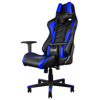 Aerocool Thunder X3 Pro Gaming Chair TGC22 Black Blue - Click below for large images