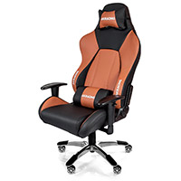 AK Racing  K7001 Premium Gaming Chair Black Brown - Click below for large images