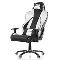 AK Racing  K7002 Premium Gaming Chair Black Silver - Click below for large images