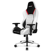 AK Racing  Arctica White Gaming Chair - Click below for large images