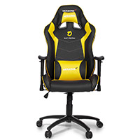 AK Racing  Team Dignitas Edt Max Gaming Chair Yellow - Click below for large images