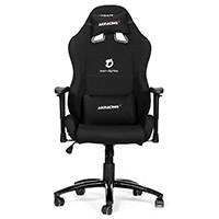 AK Racing  Team Dignitas Edt Pro Gaming Chair Black & White - Click below for large images