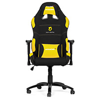 AK Racing  Team Dignitas Edt Pro Gaming Chair Yellow - Click below for large images
