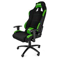 AK Racing  Gaming Chair K7012 Black Green - Click below for large images