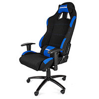 AK Racing  Gaming Chair K7012 Black Blue - Click below for large images