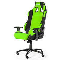 AK Racing  Prime K7018 Gaming Chair Black Green - Click below for large images