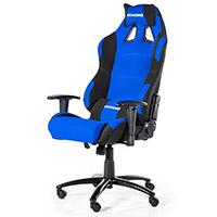 AK Racing  Prime K7018 Gaming Chair Black Blue - Click below for large images