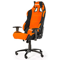 AK Racing  Prime K7018 Gaming Chair Black Orange - Click below for large images