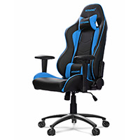 AK Racing  Nitro Gaming Chair Blue - Click below for large images
