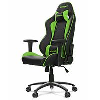 AK Racing  Nitro Gaming Chair Green - Click below for large images