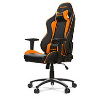 AK Racing  Nitro Gaming Chair Orange - Click below for large images