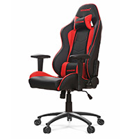 AK Racing  Nitro Gaming Chair Red - Click below for large images