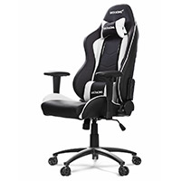 AK Racing  Nitro Gaming Chair White - Click below for large images