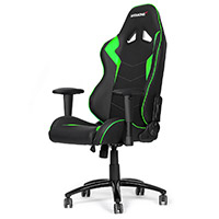 AK Racing  Octane Gaming Chair Green - Click below for large images