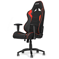 AK Racing  Octane Gaming Chair Red - Click below for large images