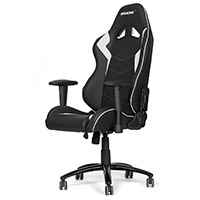 AK Racing  Octane Gaming Chair White - Click below for large images