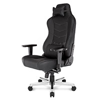 AK Racing  Onyx Premium Real Leather Gaming Chair ETA. 23rd Of May - Click below for large images