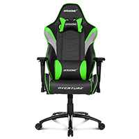 AK Racing  Overture Green Gaming Chair    - Click below for large images