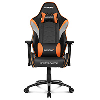 AK Racing  Overture Orange Gaming Chair  - Click below for large images