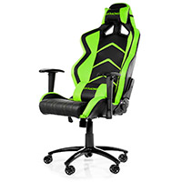 AK Racing  Player 6014 Gaming Chair Black Green - Click below for large images