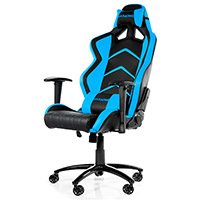 AK Racing  Player 6014 Gaming Chair Black Blue - Click below for large images