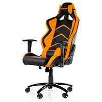 AK Racing  Player 6014 Gaming Chair Black Orange - Click below for large images